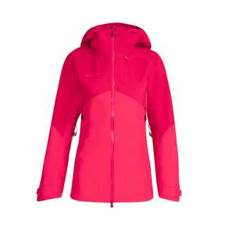 Mammut GORE-TEX® Crater HS Hooded Jacket Women Hardshelljacke Damen dragon fruit-sundown