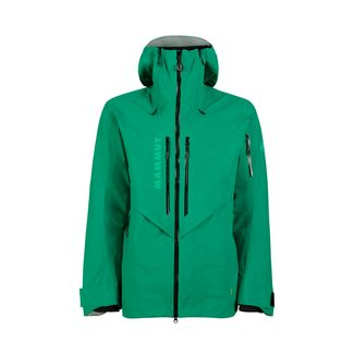 Mammut La Liste HS Hooded Jacket Men Hardshelljacke Herren deep emerald