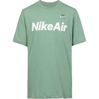 Nike NSW Air T-Shirt Herren silver pine-white