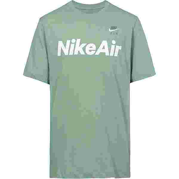 Nike NSW Air T-Shirt Herren silver pine-white