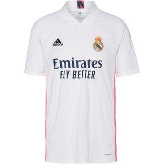 adidas Real Madrid 20-21 Heim Fußballtrikot Herren white