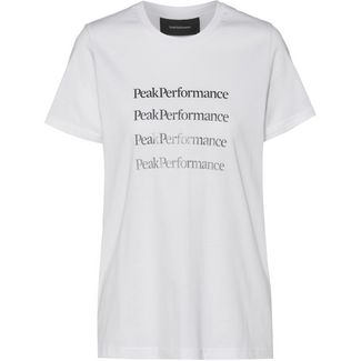 Peak Performance Ground T-Shirt Damen white