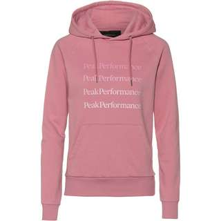 Peak Performance Ground Hoodie Damen frosty rose