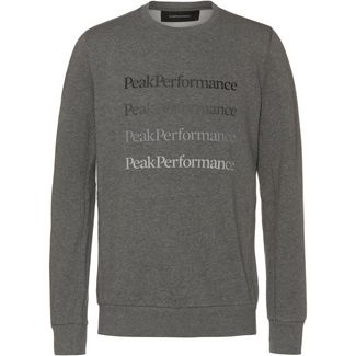 Peak Performance Ground Sweatshirt Herren grey melange