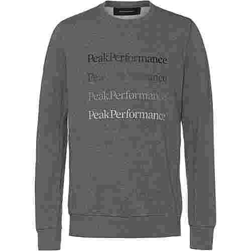 Peak Performance Ground Sweatshirt Herren grey melange