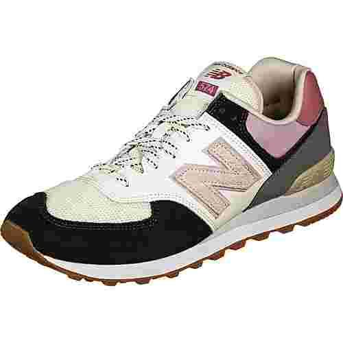 NEW BALANCE ML574 Sneaker Herren schwarz/pink