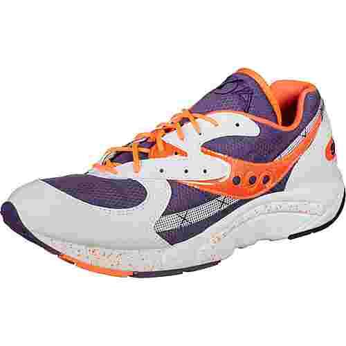 Saucony AYA W Sneaker Damen weiß/lila/orange