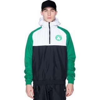New Era NBA Hooded Boston Celtics Windbreaker Herren weiß/grün/schwarz