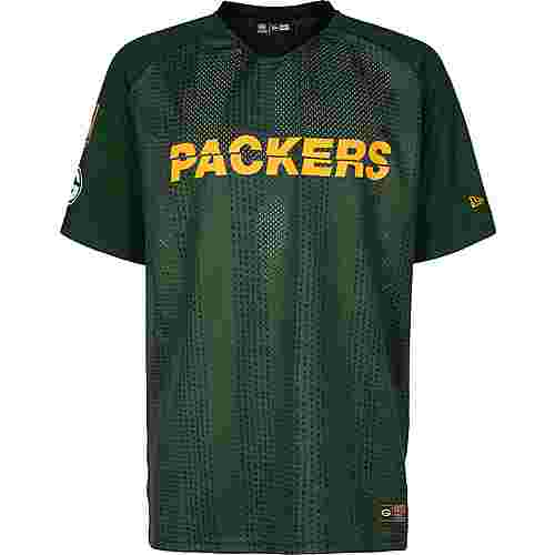 New Era NFL Stripe Oversized Green Bay Packers T-Shirt Herren grün