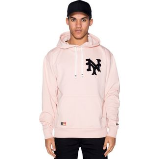 New Era MLB Vintage Big Logo New York Yankees Hoodie Herren pink
