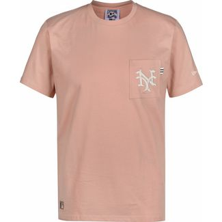 New Era MLB Vintage Pocket Logo New York Giants T-Shirt Herren pink