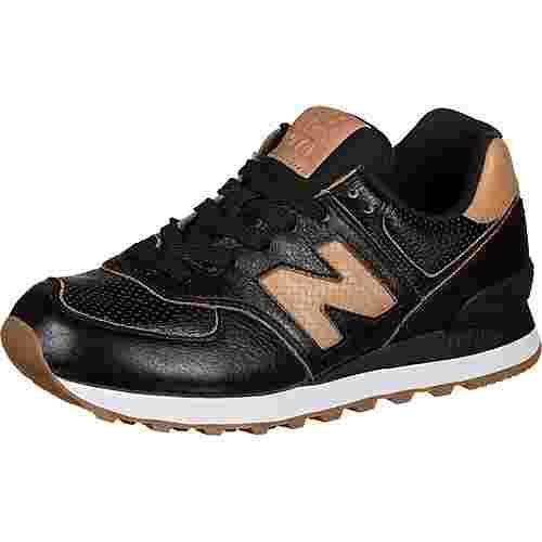 NEW BALANCE WL574 W Sneaker Damen schwarz