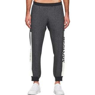 ASICS Sportswear Sweathose Herren schwarz/meliert