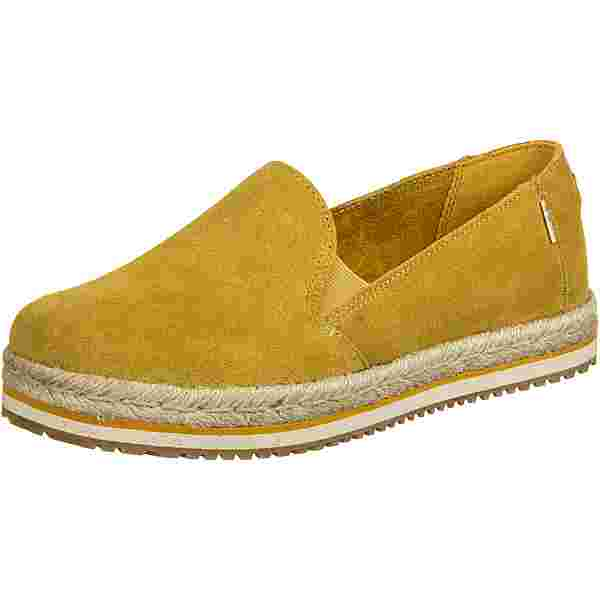 Toms Palma Sneaker Damen gelb