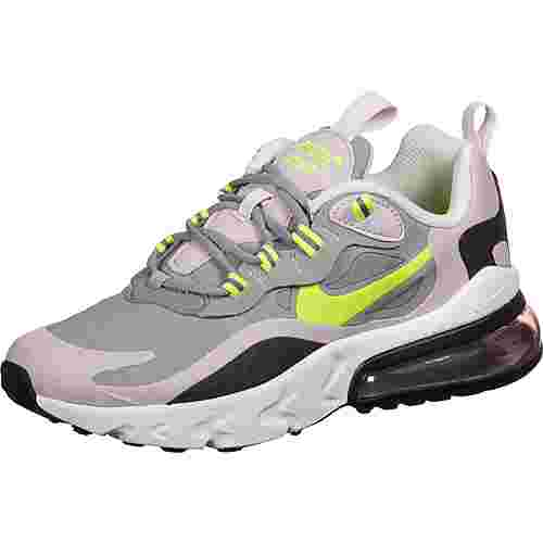 Nike Air Max 270 React Sneaker Kinder grau/pink