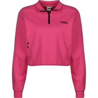 Vans Thread It Sweatshirt Damen pink