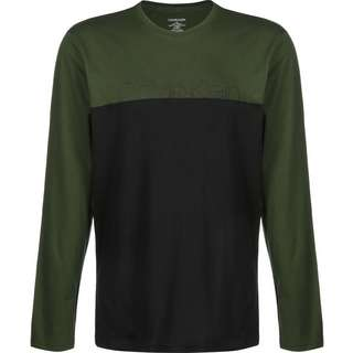 Calvin Klein Sportswear Longshirt Herren oliv/schwarz