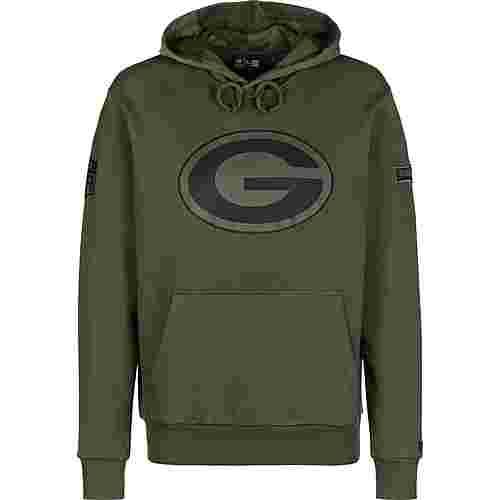 New Era NFL Camo Collection Green Bay Packers Hoodie Herren oliv