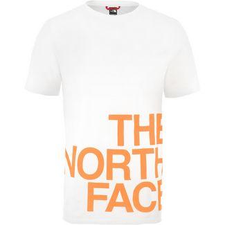 The North Face Graphic Flow 1 T-Shirt Herren weiß/orange