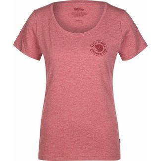 FJÄLLRÄVEN 1960 Logo W T-Shirt Damen rot/meliert