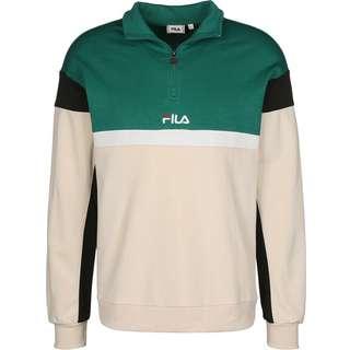 FILA Herron Half-Zip Sweatshirt Herren grün/beige