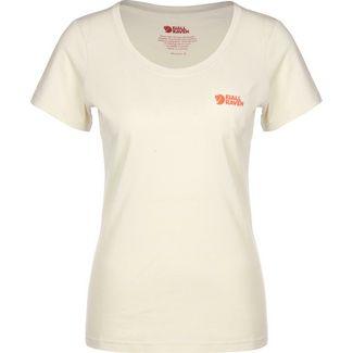 FJÄLLRÄVEN Logo W T-Shirt Damen beige