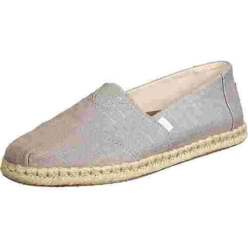 Toms Dove Linen Sneaker Herren grau