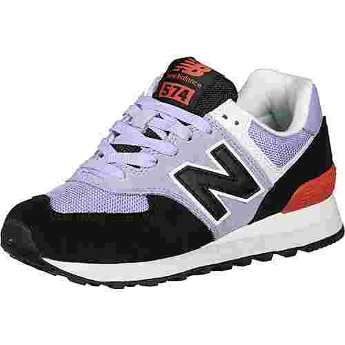 NEW BALANCE WL574 Sneaker Damen lila