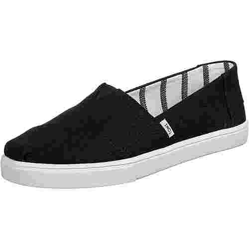 Toms Heritage Canvas Sneaker Damen schwarz