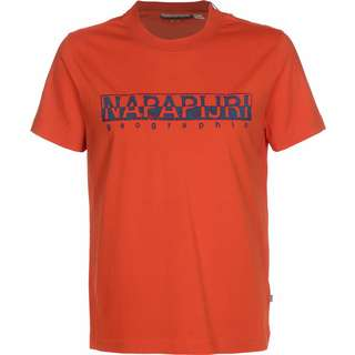 Napapijri Solanos T-Shirt Herren orange