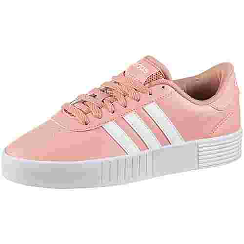 adidas Court Bold Sneaker Damen pink spirit-ftwr white-light granite