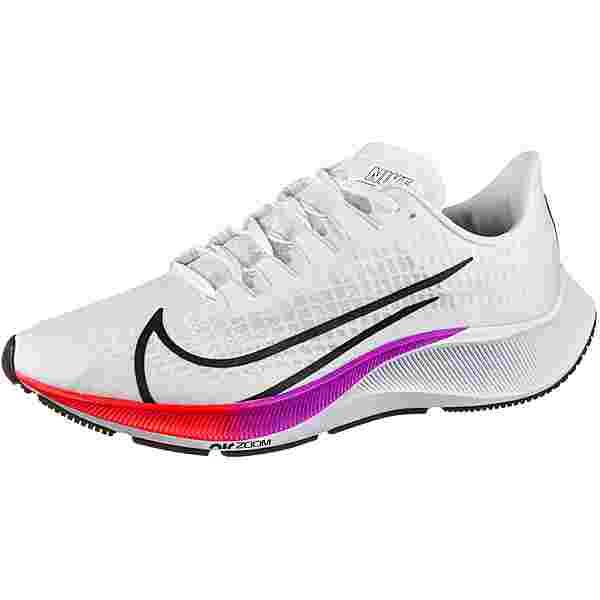 Nike AIR ZOOM PEGASUS 37 Laufschuhe Herren white-flash crimson-hyper violet