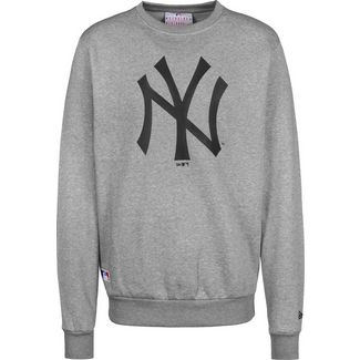 New Era MLB Team Logo NY Yankees Sweatshirt Herren grau/meliert