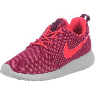 Nike Roshe One W Sneaker Damen weinrot/neon/grau