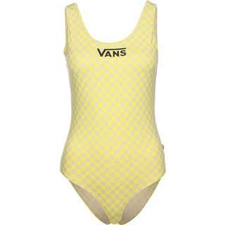 Vans Quantum Bodysuit Damen gelb/beige/kariert