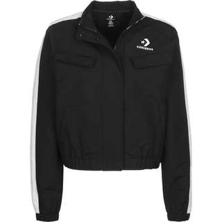 CONVERSE Woven Warm-Up Trainingsjacke Damen schwarz