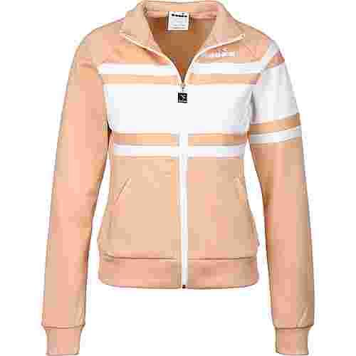 Diadora 80s W Trainingsjacke Damen beige