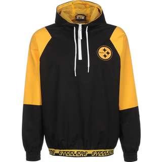New Era NFL Pittsburgh Steelers Windbreaker Herren schwarz