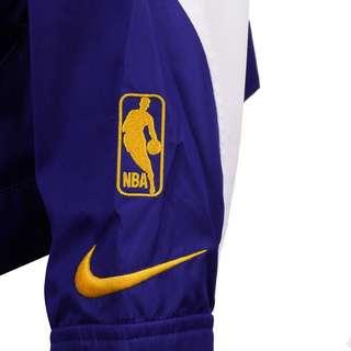Nike Golden State Warriors Trainingsjacke Damen gelb / blau
