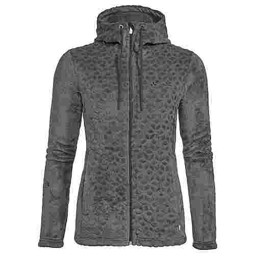 VAUDE Women's Skomer Soft Fleece Jacket Outdoorjacke Damen phantom black