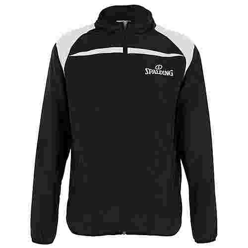 Spalding Schiedsrichterjacke Trainingsjacke Herren schwarz / grau