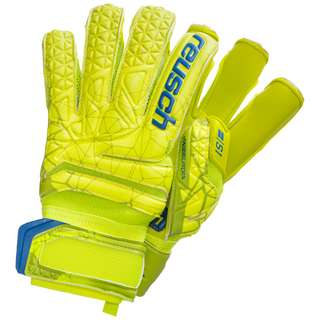 Reusch Fit Control S1 Evolution Finger Support Torwarthandschuhe Herren hellgrün / gelb