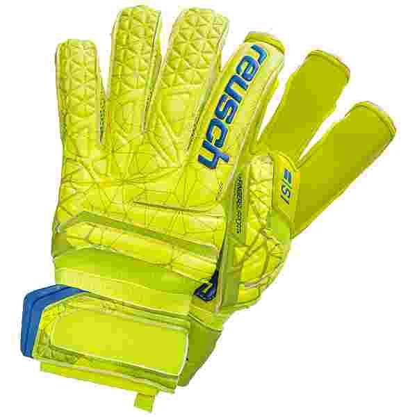 Reusch Fit Control S1 Evolution Finger Support Torwarthandschuhe Herren hellgrün / gelb