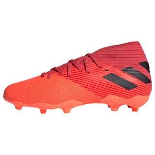 adidas Nemeziz 19.3 FG Fußballschuh Fußballschuhe Kinder Signal Coral / Core Black / Glory Red