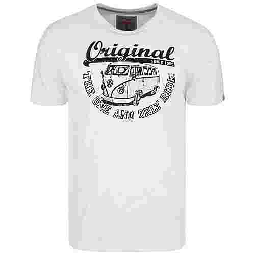 VAN ONE Original Ride T-Shirt Herren weiß / schwarz