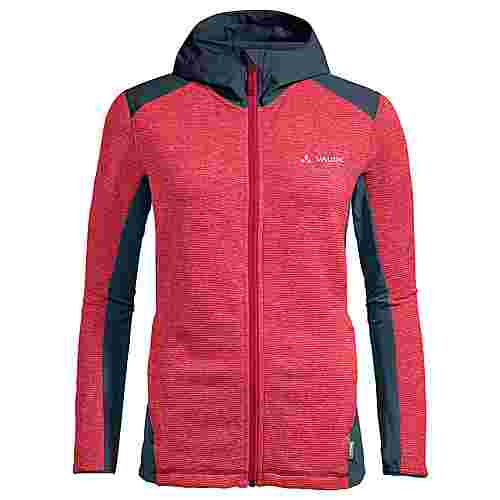 VAUDE Women's Croz Fleece Jacket II Outdoorjacke Damen cranberry