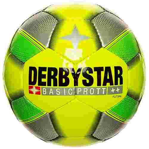 Derbystar Basic Pro TT Fußball neongelb / neongrün