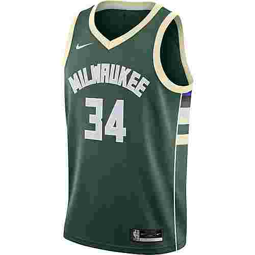 Nike Giannis Antetokounmpo Milwaukee Bucks Trikot Herren fir-flat opal