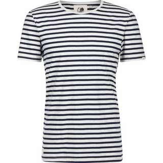 Ragwear Paul Stripe Organic T-Shirt Herren weiß/blau/gestreift