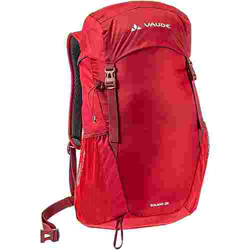 VAUDE SOLANO 25L Wanderrucksack dark-indian-red